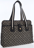 Luxury Accessories:Bags, Louis Vuitton Black Monogram Canvas Mini Lin Cabas Mary Kate ToteBag. ...