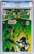 Bronze Age (1970-1979):Superhero, Green Lantern #76 (DC, 1970) CGC VF 8.0 Off-white to white pages....