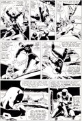 Original Comic Art:Panel Pages, Bob Powell and Wally Wood Daredevil #9 Page 2 Original Art(Marvel, 1965)....