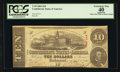 Confederate Notes:1863 Issues, T59 $10 1863 PF-3 State 4 Cr. 430.. ...