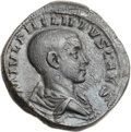 Ancients:Roman Imperial, Ancients: Philip II as Caesar (AD 244-247). Æ sestertius (32mm,19.07 gm, 12h). ...