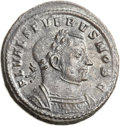 Ancients:Roman Imperial, Ancients: Severus II as Caesar (AD 305-306). BI follis (28mm, 10.29gm, 6h). ...