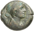Ancients:Greek, Ancients: PTOLEMAIC EGYPT. Cleopatra VII Thea Neotera (51-30 BC). Æ80 drachmai (28mm, 17.87 gm, 12h)....