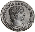 Ancients:Roman Imperial, Ancients: Hannibalianus (AD 335-337). Æ follis (15mm, 1.58 gm,11h)....
