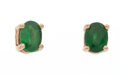 Estate Jewelry:Earrings, Tsavorite Garnet, Gold Earrings. ...