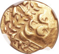 Ancients: BRITAIN. Durotriges. Uninscribed. Ca. 65 BC-AD 45. AV stater (20mm, 6.58 gm, 11h)