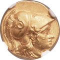Ancients:Greek, Ancients: SELEUCID KINGDOM. Seleucus I Nicator (312-281 BC). AVstater (18mm, 8.57 gm, 12h)....