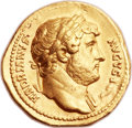 Ancients:Roman Imperial, Ancients: Hadrian (AD 117-138). AV aureus (21mm, 7.23 gm, 6h)....