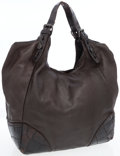 Luxury Accessories:Bags, Givenchy Brown Crocodile-Embossed Leather Oversize Hobo Bag . ...