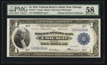 Fr. 727 $1 1918 Federal Reserve Bank Note PMG Choice About Unc 58
