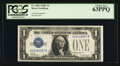 Small Size:Silver Certificates, Fr. 1603 $1 1928C Silver Certificate. PCGS Choice New 63PPQ.. ...