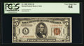 Small Size:World War II Emergency Notes, Fr. 2302 $5 1934A Hawaii Federal Reserve Note. PCGS Very Choice New 64.. ...
