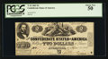 Confederate Notes:1862 Issues, T42 $2 1862 PF-5 Cr. 337. . ...