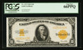 Large Size:Gold Certificates, Fr. 1173 $10 1922 Gold Certificate PCGS Gem New 66PPQ.. ...