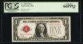 Small Size:Legal Tender Notes, Fr. 1500 $1 1928 Legal Tender Note. PCGS Gem New 66PPQ.. ...