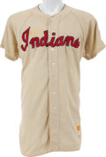 Baseball Collectibles:Uniforms, 1956 Herb Score Game Worn Cleveland Indians Jersey....