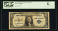 Error Notes:Major Errors, Fr. 1607* $1 1935 Silver Certificate. PCGS Fine 12.. ...
