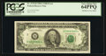Error Notes:Offsets, Fr. 2170-B $100 1981A Federal Reserve Note. PCGS Very Choice New 64PPQ.. ...