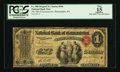 National Bank Notes:Pennsylvania, Philadelphia, PA - $1 Original Fr. 380 The NB of Germantown Ch. #546. ...