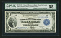 Fr. 731 $1 1918 Federal Reserve Bank Note PMG About Uncirculated 55