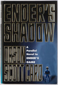Books:Signed Editions, Orson Scott Card. SIGNED. Ender's Shadow. New York: Tor, 1999. First edition, first printing. Publisher's cloth bind...