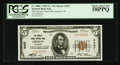 National Bank Notes:Colorado, Greeley, CO - $5 1929 Ty. 1 The Greeley Union NB Ch. # 4437. ...