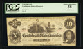 Confederate Notes:1862 Issues, T46 $10 1862 PF-2 Cr. 343. ...