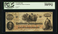 Confederate Notes:1862 Issues, T41 $100 1862 PF-13 Cr. 321A. ...
