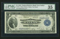 Fr. 741 $1 1918 Federal Reserve Bank Note PMG Choice Very Fine 35