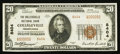 National Bank Notes:Pennsylvania, Collegeville, PA - $20 1929 Ty. 2 The Collegeville NB Ch. # 8404. ...