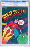 Silver Age (1956-1969):Alternative/Underground, The Great Society Comic Book #nn (Parallax Comic Books, 1966) CGCNM+ 9.6 Off-white to white pages....