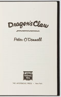 Books:Mystery & Detective Fiction, Peter O'Donnell. SIGNED/LIMITED. Dragon's Claw. MysteriousPress, 1985. Limited to 250 numbered and signed cop...