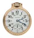 Timepieces:Pocket (post 1900), Hamilton 21 Jewel Model 992 Twenty Four Hour Pocket Watch. ...