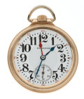 Timepieces:Pocket (post 1900), Hamilton 21 Jewel Model 992 Double Time Zone Pocket Watch. ...