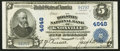 National Bank Notes:Tennessee, Knoxville, TN - $5 1902 Plain Back Fr. 602 The Holston NB Ch. #4648. ...