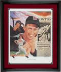 Baseball Collectibles:Others, Ted Williams Signed Artist's Proof Lithograph....