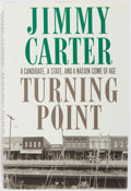 Books:Americana & American History, Jimmy Carter. SIGNED. Turning Point. New York: Times Books,1992. First edition, first printing. Signed on title pag...