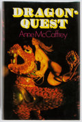 Books:Signed Editions, Anne McCaffrey. SIGNED. Dragonquest. London: Rapp andWhiting, 1973. First hardcover edition, first printing. Publis...