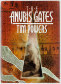 Books:Signed Editions, Tim Powers. SIGNED. The Anubis Gates. Mark V. Ziesing, 1989. First US Hardcover edition, first printing. Signed on t...