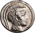 Ancients:Greek, Ancients: ATTICA. Athens. Ca. 165-42 BC. AR tetradrachm (29mm,16.86 gm, 11h)....