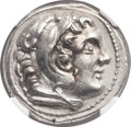 Ancients:Greek, Ancients: MACEDONIAN KINGDOM. Alexander III the Great (336-323 BC).AR tetradrachm (26mm, 17.21 gm, 7h)....