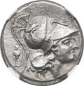 Ancients:Greek, Ancients: SICILY. Syracuse. Agathocles (317-289 BC). AR stater(23mm, 8.50 gm, 12h). ...