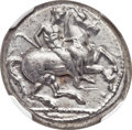 Ancients:Greek, Ancients: CILICIA. Celenderis. Ca. 410-375 BC. AR stater (23mm, 10.66 gm, 6h)....