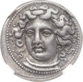 Ancients:Greek, Ancients: THESSALY. Larissa. Ca. 380-365 BC. AR drachm (19mm, 6.01gm, 11h)....