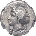 Ancients:Greek, Ancients: MYSIA. Cyzicus. Ca. 390-330 BC. AR tetradrachm (22mm,14.74 gm, 6h)....