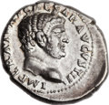 Ancients:Roman Imperial, Ancients: Titus as Caesar (AD 69-79). AR denarius (18mm, 3.21 gm, 12h). ...