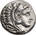 Ancients:Greek, Ancients: MACEDONIAN KINGDOM. Alexander III the Great (336-323 BC).AR tetradrachm (25mm, 17.30 gm, 9h). ...