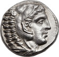 Ancients:Greek, Ancients: MACEDONIAN KINGDOM. Alexander III the Great (336-323 BC).AR tetradrachm (25mm, 17.09 gm, 3h). ...