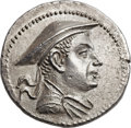 Ancients:Greek, Ancients: GRECO-BACTRIAN KINGDOM. Antimachus I Theos (185-170 BC).AR tetradrachm (31.5mm, 16.43 gm, 12h)....