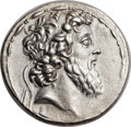Ancients:Greek, Ancients: SELEUCID KINGDOM. Demetrius II Nicator, Second Reign(129-125 BC). AR tetradrachm (29mm, 16.41 gm, 12h)....